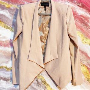 Like new Brown nude color bcbg work blazer